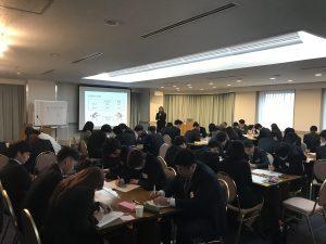 東京都中小建設業協会主催の新入社員研修に参加しました。